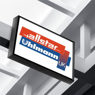 Allstar Ulman UK shop signage